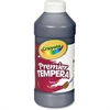 Crayola Premier Tempera Paint - 16 oz - 1 Each - Black