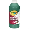 Crayola Premier Tempera Paint - 16 oz - 1 Each - Green
