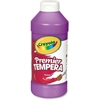 Crayola 16 oz. Premier Tempera Paint - 16 fl oz - 1 Each - Violet