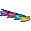 "PaperPro inJOY 12 Nano Stapler - 12 Sheets Capacity - Mini - 1/4"" Staple Size - Assorted, Translucent"