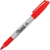 Sharpie Resilient Tip Permanent Marker - Fine Point Type - Red Alcohol Based Ink - 1 Each