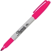 Sharpie Resilient Tip Marker - Fine Point Type - Magenta Alcohol Based Ink - 1 Each
