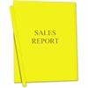 "C-Line Vinyl Report Cover - Letter - 8.50"" Width x 11"" Length Sheet Size - Vinyl - Yellow - 50 / Box"""