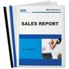 "C-Line Polypropylene Report Cover - Letter - 8.50"" Width x 11"" Length Sheet Size - Polypropylene - Clear - 3 / Pack"""