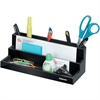 "Fellowes Designer Suites™ Organizer - 7 Compartment(s) - 3.9"" Height x 11.1"" Width x 5"" Depth - Desktop - Black, Pearl - 1Each"