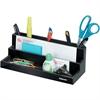 "Fellowes Designer Suites™ Organizer - 7 Compartment(s) - 3.9"" Height x 11.1"" Width x 5"" Depth - Desktop - Black, Pearl - 1Each"