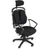 "Balt Spine Align Executive Chair - Foam, Fabric Seat - Foam Back - 5-star Base - Black - 26"" Width x 21"" Depth x 44"" Height"