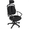 "Balt Spine Align Executive Chair - Foam, Fabric Seat - Foam Back - 5-star Base - Black - 26"" Width x 21"" Depth x 44"" Height"