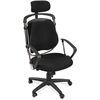 "Balt Posture Perfect Executive Chair - Foam, Fabric Seat - Foam Back - 5-star Base - Black - 26"" Width x 21"" Depth x 44"" Height"