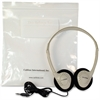 Califone CA-2 Noise Canceling Headphone - Stereo - Wired - 30 Ohm - 20 Hz 20 kHz - Over-the-head - Binaural - Semi-open - 6 ft Cable