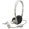 Califone Multimedia Stereo Headp Wired Beige Clr Via Ergoguys - Stereo - Beige - Wired - 25 Ohm - 20 Hz 20 kHz - Nickel Plated - Over-the-head - Binaural - Semi-open - 8 ft Cable