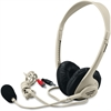 Califone 3064AV Multimedia Stereo Headset - Stereo - Mini-phone - Wired - 25 Ohm - 20 Hz - 20 kHz - Over-the-head - Binaural - Semi-open - 8 ft Cable