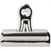 "Sparco Bulldog Clip - No. 2 - 2.3"" Width - 36 / Box - Silver - Steel"