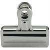 "Sparco Bulldog Clip - 4"" Length x 3"" Width - 12 / Box - Silver - Steel"