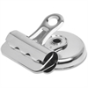 "Sparco Bulldog Magnetic Clip - 1"" Length x 1.3"" Width - 0.37"" Size Capacity - 18 / Box - Silver - Steel"