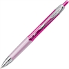 Uni-Ball Breast Cancer Awareness 207 Pink Ribbon Gel Pen - 0.7 mm Point Size - Black Gel-based Ink - Pink Barrel - 1 Each