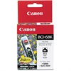 Canon BCI-6Bk Ink Cartridge - Inkjet - Standard Yield - 370 Page - 1 Each