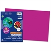 "Pacon Riverside Groundwood Construction Paper - 12"" x 18"" - 50 / Pack - Magenta"