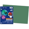 "Pacon Riverside Groundwood Construction Paper - 12"" x 18"" - 50 / Pack - Dark Green"