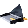 "Fellowes Plasma™ 180 Paper Cutter - 1 x Blade(s)Cuts 40Sheet - 18"" Cutting Length - 4.8"" Height x 14.4"" Width x 30.1"" Depth - Metal Base - Black, Silver"