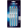 Uni-Ball Vision Elite Rollerball Pen - Bold Point Type - 0.8 mm Point Size - Refillable - Assorted Gel-based Ink - 4 / Pack