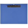 "Lion Computer Printout Clipboard - 12.75"" x 17.75"" - Clamp - Blue"