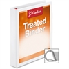 "Cardinal Treated ClearVue Locking Slant-D Ring Binder - 1 1/2"" Binder Capacity - Letter - 8 1/2"" x 11"" Sheet Size - 375 Sheet Capacity - 1 3/5"" Spine Width - 3 x D-Ring Fastener(s) - 2 Inside Front &"