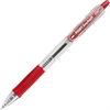 EasyTouch Retractable Ballpoint Pen - Fine Point Type - 0.7 mm Point Size - Refillable - Red - 1 Each