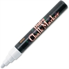 Marvy Bistro Water-based Chalk Marker - 6 mm Point Size - Point Point Style - White Water Based Ink - 1 / Each