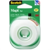 "Scotch Magic Tape Refill Roll - 0.75"" Width x 41.67 ft Length - 1"" Core - Writable Surface - 1 Roll - Clear"