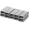 "Bostitch No. 10 Mini Premium Staples - 50 Per Strip - 3/16"" Leg - Holds 20 Sheet(s) - Chisel Point - Silver - High Carbon Steel - 1 / Pack"