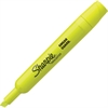 Sharpie Accent Tank Style Highlighter - Chisel Point Style - Fluorescent Yellow - 1 Dozen