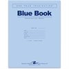"Roaring Spring Blue Examination Book - 16 Sheets - Printed - Stapled - Letter 8.50"" x 11"" - Blue Cover - 50 / Pack"