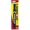 Avery Marks-A-Lot Large Permanent Marker - 5.1 mm Point Size - Chisel Point Style - Black - Black Barrel - 1 / Pack