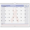 "At-A-Glance QuickNotes Breast Cancer Awareness Wall Calendar - Julian - Monthly - January 2017 till December 2017 - 1 Month Single Page Layout - 15"" x 12"" - Wire Bound - Wall Mountable - Pink, White -"