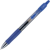 G2 Gel Ink Pen - Fine Point Type - 0.7 mm Point Size - Point Point Style - Refillable - Blue Gel-based Ink - 1 Dozen