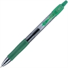 G2 Gel Ink Pen - Fine Point Type - 0.7 mm Point Size - Point Point Style - Refillable - Green Gel-based Ink - 1 Dozen
