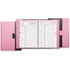 "Day-Timer Breast Cancer Awareness Pink Ribbon Planner - Weekly - 1 Year - January 2017 till December 2017 - 8:00 AM to 5:00 PM - 1 Week Double Page Layout - 5.50"" x 8.50"" - Wire Bound - Pink, Gray - V"