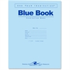 "Roaring Spring Examination Blue Book - 8 Sheets - Printed - Stapled - Letter 8.50"" x 11"" - Blue Cover - 50 / Pack"
