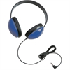 Califone Childrens Stereo Blue Headphone Lightweight Via Ergoguys - Stereo - Blue - Mini-phone - Wired - 25 Ohm - 20 Hz 20 kHz - Over-the-head - Binaural - Circumaural - 5.50 ft Cable