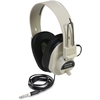 Califone Ultra Sturdy Stereo Headphone W/ Vol Cntrl Via Ergoguys - Stereo - Beige - Mini-phone - Wired - 300 Ohm - 40 Hz 18 kHz - Nickel Plated - Over-the-head - Binaural - Ear-cup - 6 ft Cable
