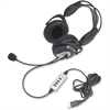 Califone Usb Headphones Wired W/ Unidirectional Mic Via Ergoguys - Stereo - USB - Wired - 30 Hz - 20 kHz - Over-the-head - Binaural - Ear-cup - Electret Microphone