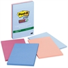 "Post-it Post-it Super Sticky Recycled Notes, 4 in x 6 in, Bali Color Collection, Lined - 180 - 4"" x 6"" - Rectangle - 45 Sheets per Pad - Ruled - Assorted - Paper - Self-adhesive - 4 Pad"