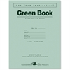 """Roaring Spring Examination Green Book - 8 Sheets - Printed - Stapled - Letter 8.50"""" x 11"""" - Green Paper - Green Cover - Recycled - 50 / Pack"""