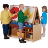Jonti-Craft Multi-Station Art Center - Baltic Stand - Floor Standing - Assembly Required - 1 Each