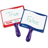 """Learning Resources Write-on Wipe-off Answer Boards - 8"""" (0.7 ft) Width x 6"""" (0.5 ft) Height - White Surface - Assorted Frame - Rectangle - 10 / Set"""