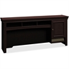 "Bush Business Furniture Syndicate 60W Hutch - 60"" x 12.5"" x 26.8"" - Material: Engineered Wood, Wood - Finish: Thermofused Laminate (TFL), Mocha, Mocha Cherry"