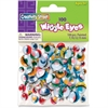 ChenilleKraft Painted Wiggle Eyes - 100 / Bag - Assorted