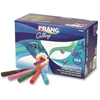 Ticonderoga Prang Ambrite Paper Chalk - Assorted - 12 / Box