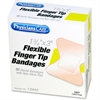 "First Aid Fingertip Bandage - 1.75"" x 3"" - 1/Box - Natural"